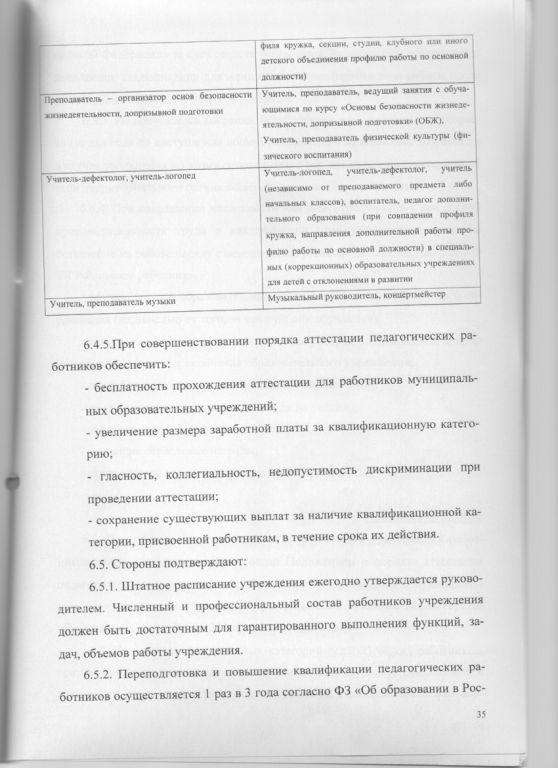 Трудовой договор 35